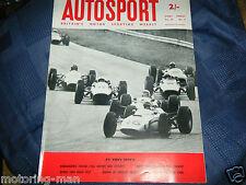 John Surtees Ferrari 158 victorias italiano Grand Prix 1964 Monza Bruce McLaren Hill