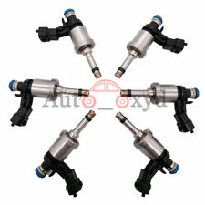 12638530 6xFuel Injectors For GM Chevrolet Camaro Traverse GMC Acadia CTS 3.6L