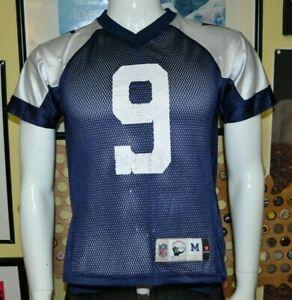 Dallas Cowboys Tony Romo Throwback Football Jersey Youth Medium NFL Nice Reebok