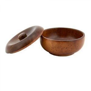 1 Pcs Vintage Wooden Shaving Bowl Mug Shave Soap Cream Cup Barber Tool For Men