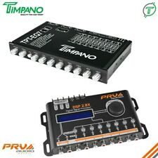 Prv Dsp 2.8X Digital Signal Processor + Tpt-Eq7 Band Graphic Equalizer Combo