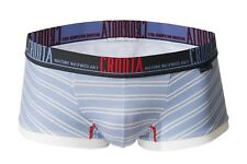 "CROOTA Mens Underwear, Boxer Briefs, Trunks, Supima, Striped, XL (Waist 35-38"")"