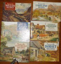 6 Favourite Recipes Mini Cookbooks Dorset Welsh Farmhouse Lakeland Cotswold