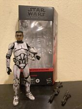 Custom Star Wars The Black Series AOTC Phase 1 Clone Trooper 6? Action Figure