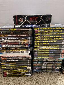 Huge MMA Dvd Blu-Ray Lot - UFC Strikeforce Price FC Elite XC DVD collection