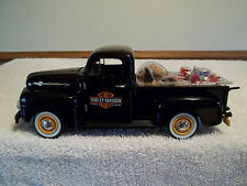 Harley Davidson 1952 Ford Pickup Truck 1:24 Scale Die Cast Bank NIB