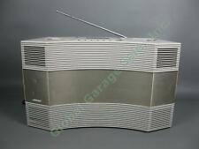 Bose Model AW-1 Acoutic Wave Stereo Music System AM-FM Radio Cassette Tested IWC