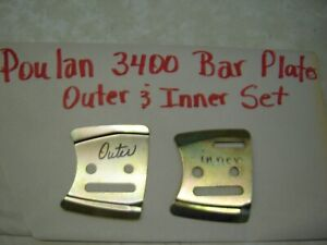 Bar Plate Set for Poulan 3400 / 3700 Chainsaw
