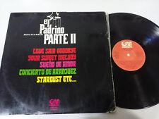 """LE PARRAIN PARTIE II BANDE ORIGINALE FANNY DE JOIE ORCHESTRA LP VINYLE 12"""" 1976"""