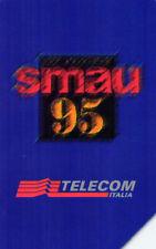 *G 456 C&C 2516 SCHEDA TELEFONICA USATA SMAU 95