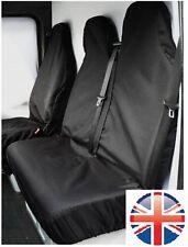 PEUGEOT EXPERT 07-ON HDI HEAVY DUTY BLACK WATERPROOF VAN SEAT COVERS 2+1