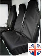 CITROEN BERLINGO Enterprise HEAVY DUTY WATERPROOF BLACK VAN SEAT COVERS 2+1