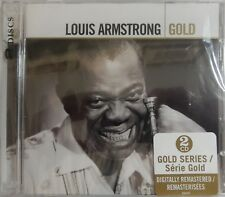 Louis Armstrong - Gold (CD 2006, 2 Discs, Hip-O) 40 Songs - Brand NEW
