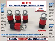 (5) Polaris Lock & Ride Lock and Ride Type Tie Down Anchors for Ranger/General