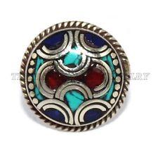 Adjustable Ring Lapis Ring Boho ring Silver ring Tibetan ring Turquoise Ring