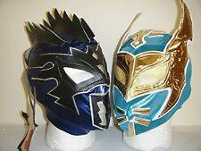KALISTO & SIN CARA KID CHILDRENS WRESTLING MASK NEW FANCY DRESS UP WWE COSPLAY