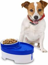 Pet Water Fountain Pet Food Bowl 3 in 1 Include Filter For Cats Dogs Utopia Home