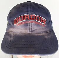 Vintage Early Jeff Gordon Hendrick DuPont Cap Strap Back Racing Hat Distressed