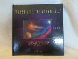 """Star Trek Fold-Out book """"These are the Voyages""""by C.Kurts / Hideaki Nakano"""