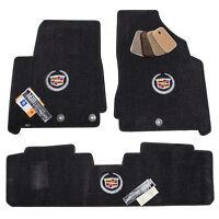 Cadillac SRX Floor Mats - Ebony Interior - 32oz 2-PLY High Quality - Custom Fit