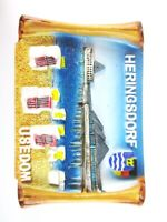 Usedom Heringsdorf Poly Magnet Germany Deutschland Souvenir,Neu