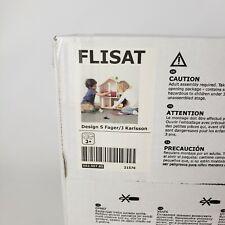 "Ikea Flisat Doll House Wall Shelf  502.907.85 Wooden New 23.25"""