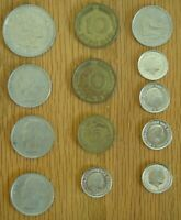 Vintage Coin lot Danmarks Nederlanden Belgique deutschland