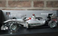 Michael Schumacher Mercedes AMG Petronas F1 Team W01 2010 Minichamps