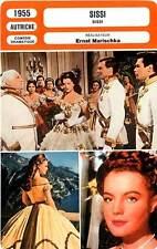 FICHE CINEMA : SISSI - Schneider,Böhm,Marischka 1955