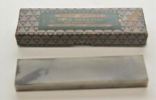Vintage Norton Abrasives Hard Arkansas Pen Knife Piece Whet Stone HB 14 Size 4