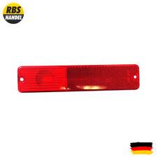 Luz intermitente lateral amarilla, trasero, Color rojo Jeep SJ Wagoneer 72-91