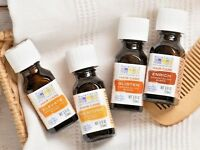 Natural Aura Cacia Hair Care Essential Oil Blends Alcohol-Free/No Animal Testing