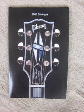 2000  GIBSON GUITAR CATALOG   Ace Frehley  Gary Moore  LES PAUL  Angus Young  SG