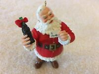 1996 Hallmark Keepsake Welcome Guest Coca Cola Santa Christmas Ornament