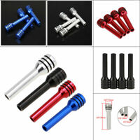 Car Truck Aluminum Interior Door Locking Knob Pull Pins Cover Kits 4-Colors