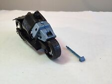 BATMAN Armored Cycle vehicle 2008 Mattel Dark Knight Bat animated motorcycle DKT