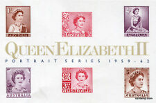Australia Replica Card #5 QEII Portrait Series Queen Elizabeth II Die Proof