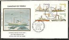 Canada Sc # 779a Canadian Ice Vessels Fdc. Colorano Silk Cachet.