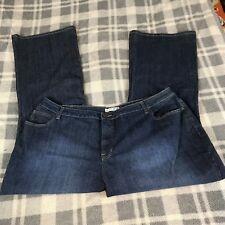 Women's FASHION BUG Boot Leg Jeans SIZE 26W Medium Wash Inseam 32.5 Waist 44