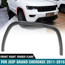 Front Passenger Side Plastic Fender Flare For Jeep Grand Cherokee 2011-2016