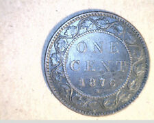 1876-H Canada Large Cent,   High Grade Coins   (Can-386)