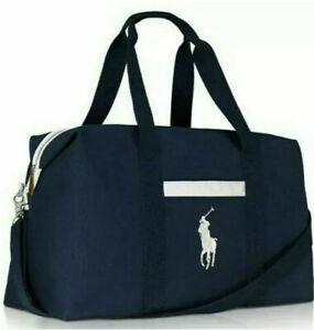 Ralph Lauren Polo Mens Weekend Holdall Duffle Sports Gym Travel flight cabin bag