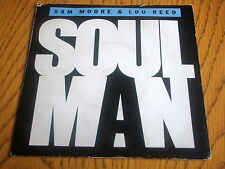 "SAM MOORE & LOU REED - SOUL MAN     7"" VINYL PS"