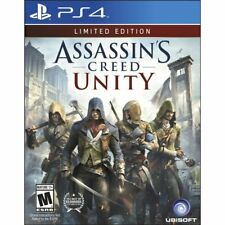 * Playstation 4 NEU versiegelt Spiel * Assassin's Creed Unity Limited Edition PS4 US