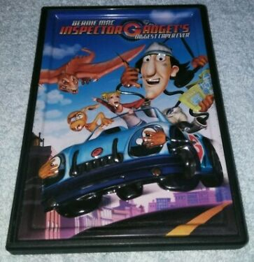 Inspector Gadgets Biggest Caper Ever DVD RARE metal embossed case