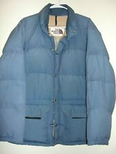 VINTAGE THE NORTH FACE EXPEDITION DOWN PARKA JACKET BLUE ADULT MEDIUM USA