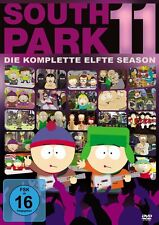 3 DVDs * SOUTH PARK - DIE KOMPLETTE 11. STAFFEL # NEU OVP +