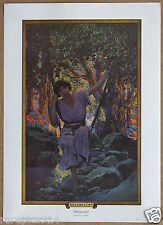 Maxfield Parrish Dream Light Vintage Original Portal Publications LithoArt Print
