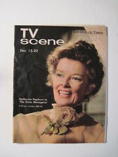 Louisville Times TV Scene, 1973. Katherine Hepburn Cover & Feature! M*A*S*H*!
