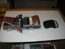 DANBURY MINT-LIMITED EDITION -1956 DE SOTO FIREDOME CONVERTIBLE 1/24-with C.O.T.